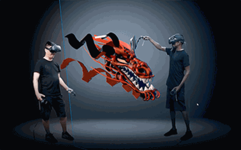 рисуване във виртуална реалност